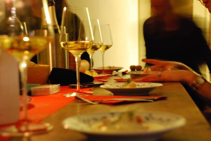 pakjesavond en wijnproeven