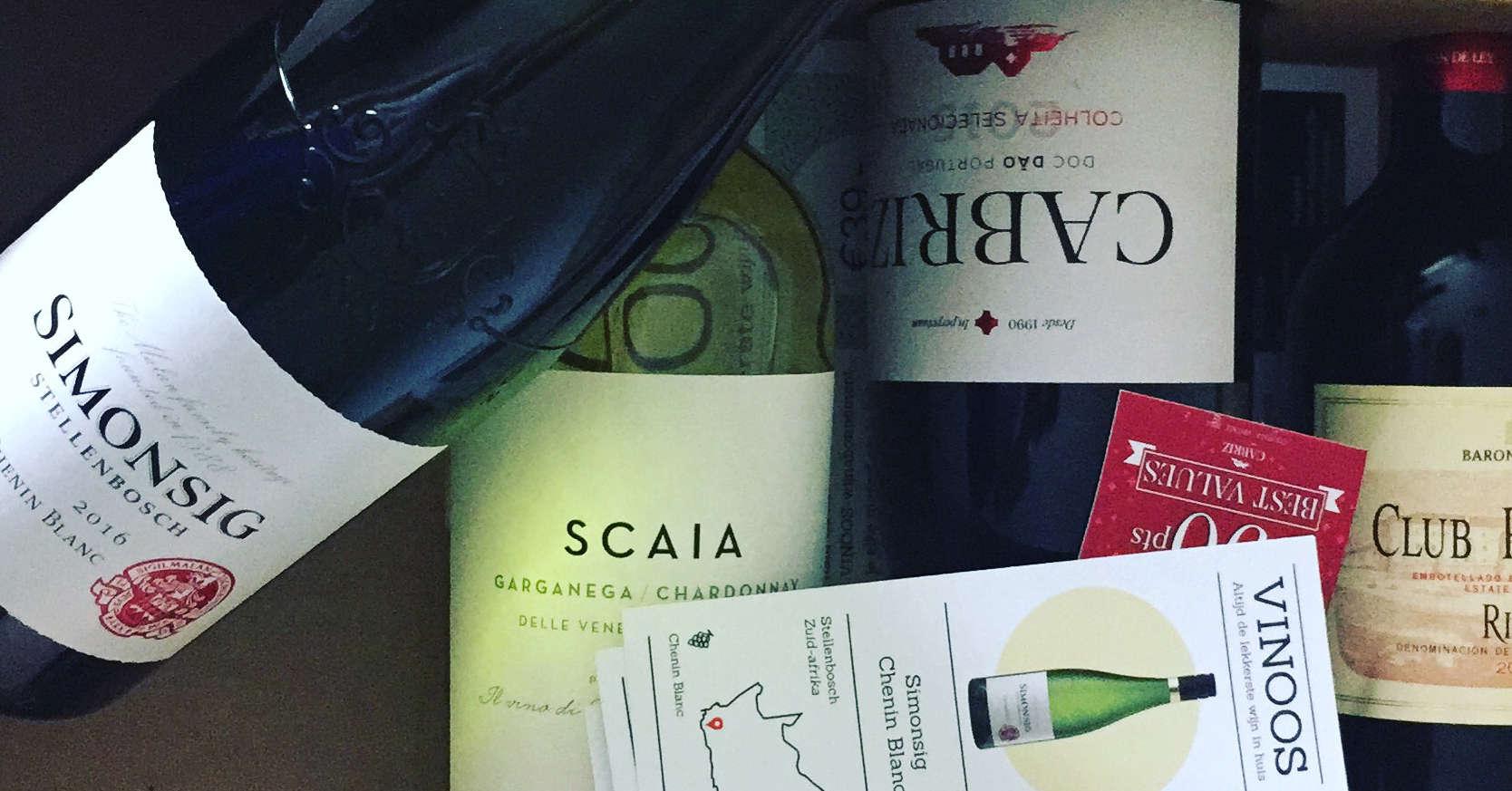 Wijnabonnement: Lekkere wijnen in de Vinoos wijnbox!