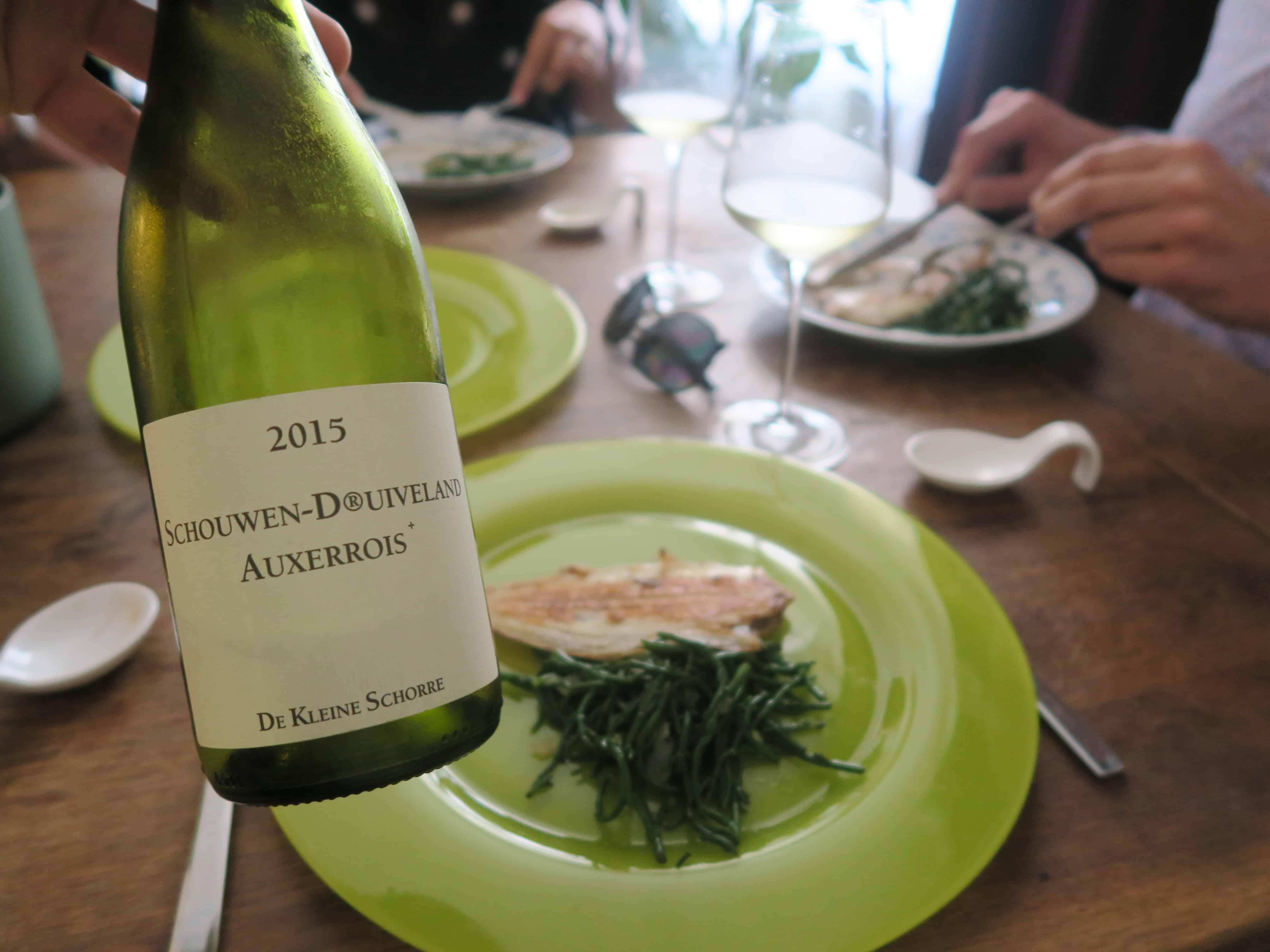4x Zeeuwse wijn met Zeeuwse gerechten