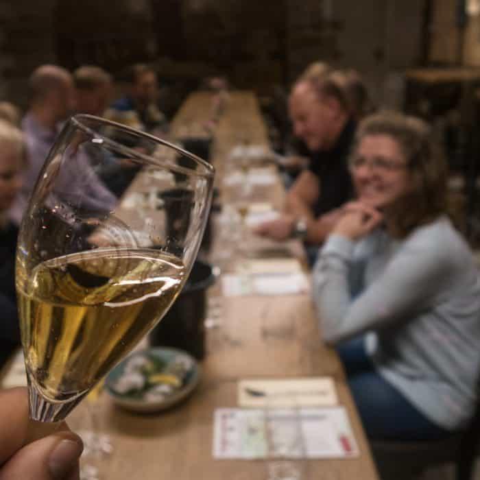 Met de Club's wijncursus op excursie naar de Kleine Schorre