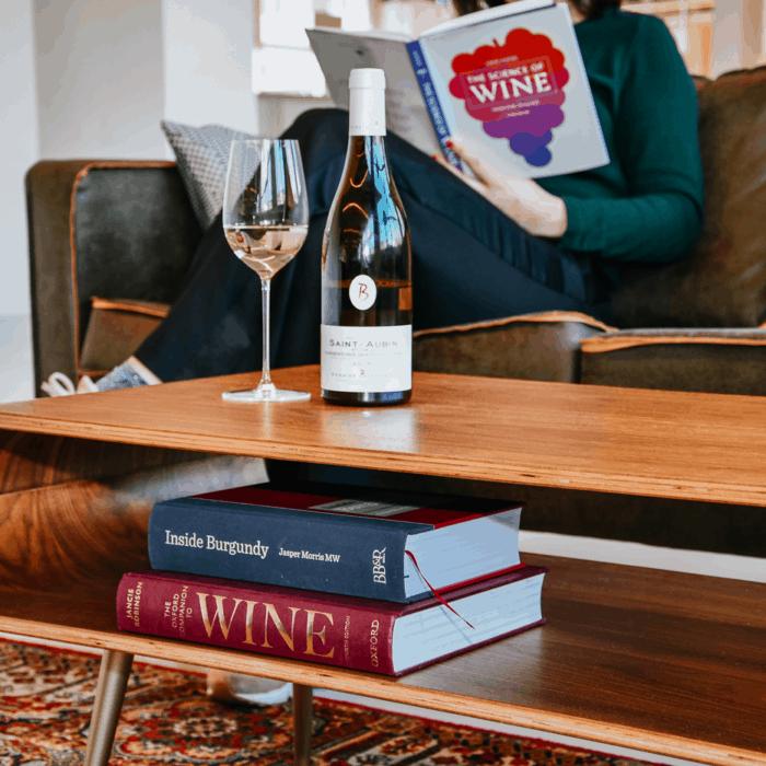 Alle wijnboeken op een rij