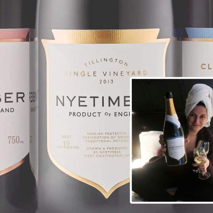 Nu in het glas: Nyetimber Classic Cuvée MV.