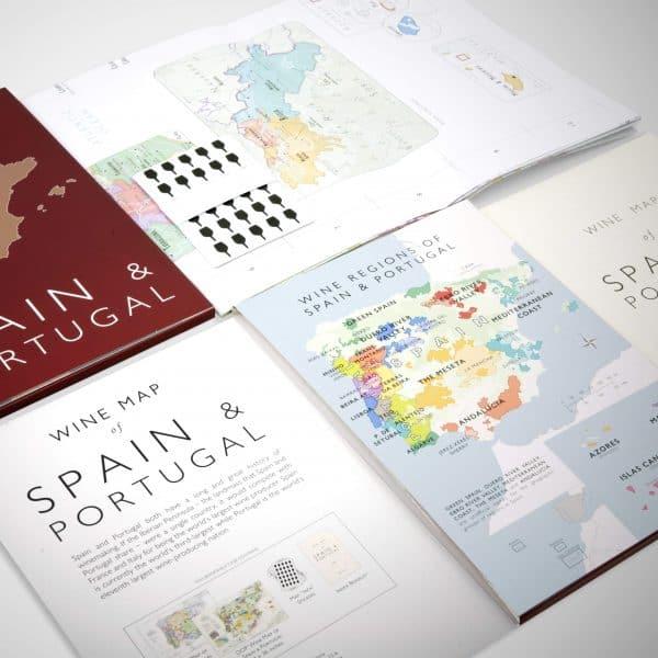 spanje wijnkaart