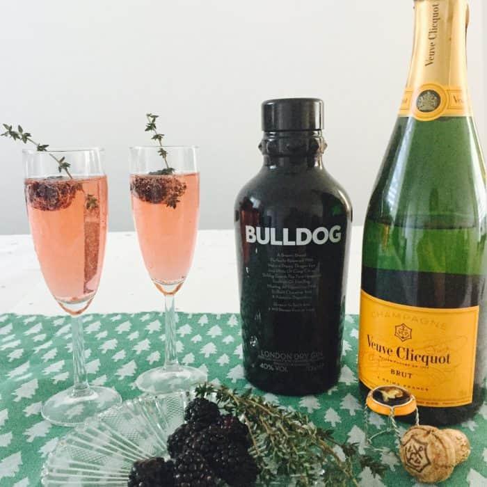 Oudejaarsavond: Champagne & Gin Cocktails!