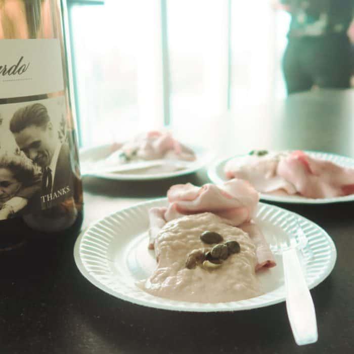 Wijnspijs: Snelle vitello tonato