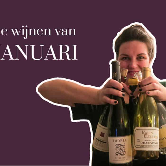 Januari 2019 – de wijnen van deze maand