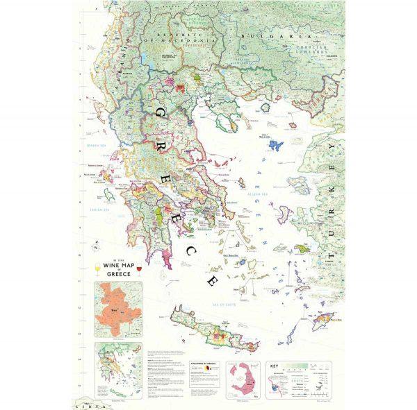 wijnkaart griekenland wijn