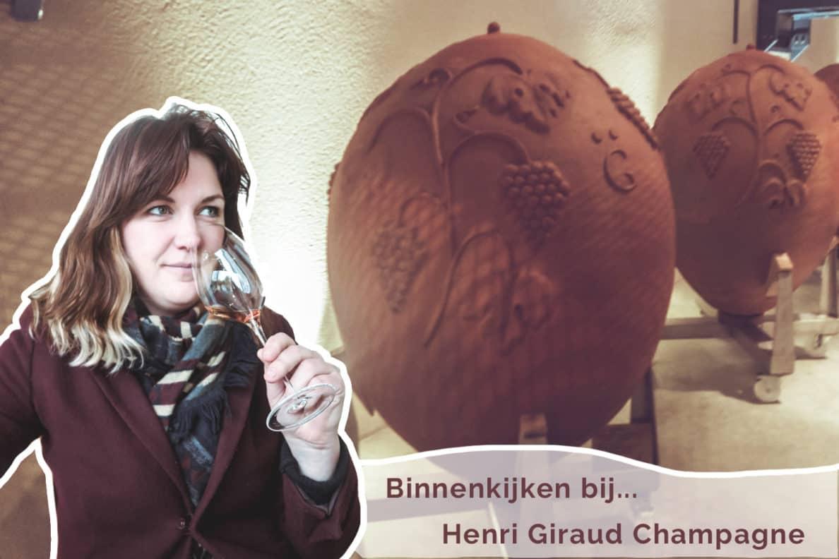 Binnenkijken bij… Henri Giraud Champagne