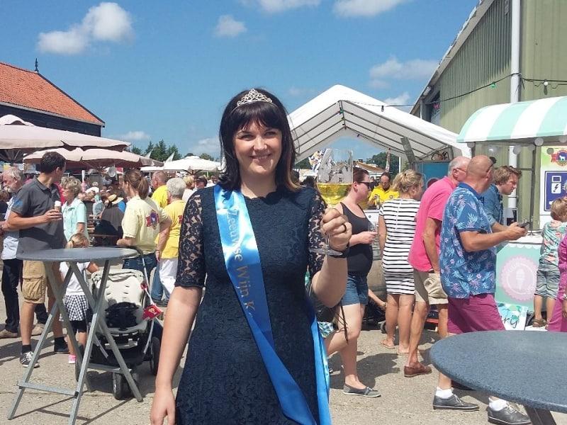 Nadien is de Zeeuwse wijnkoningin van de Kleine Schorre!