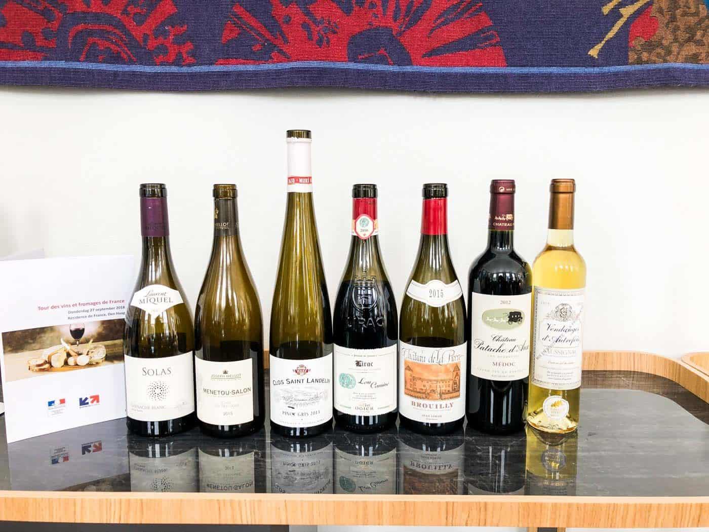 Tour de France: wijn en kaas op de Franse Ambassade