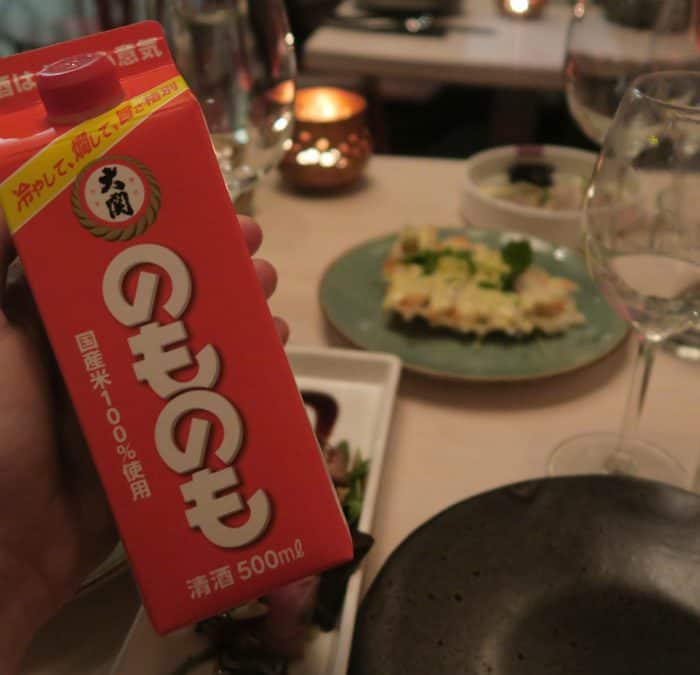 Restaurant Umami: Het umami-effect van saké