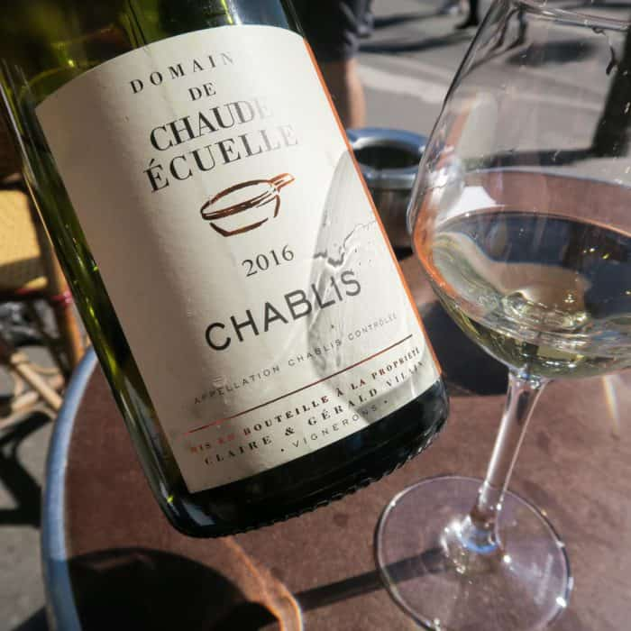 Chablis all day.
