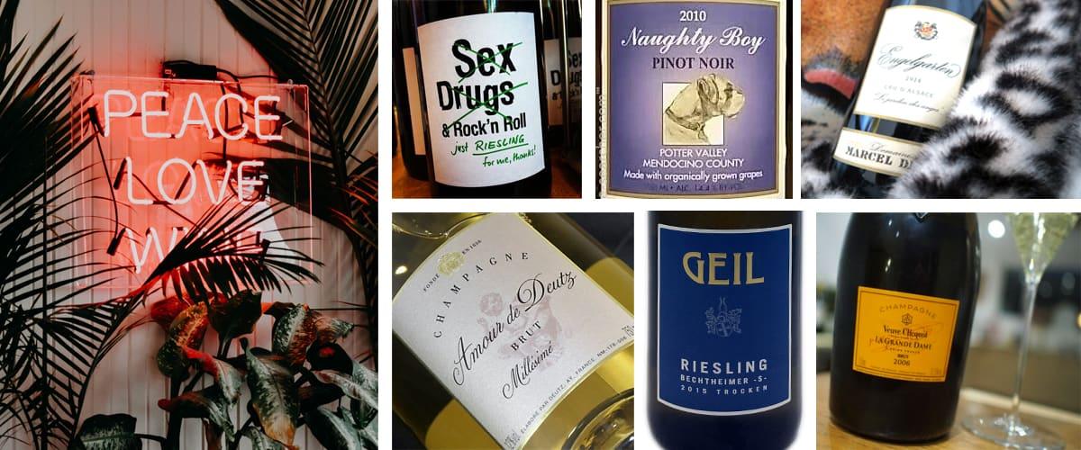 7 perfecte wijnen voor Valentijnsdag