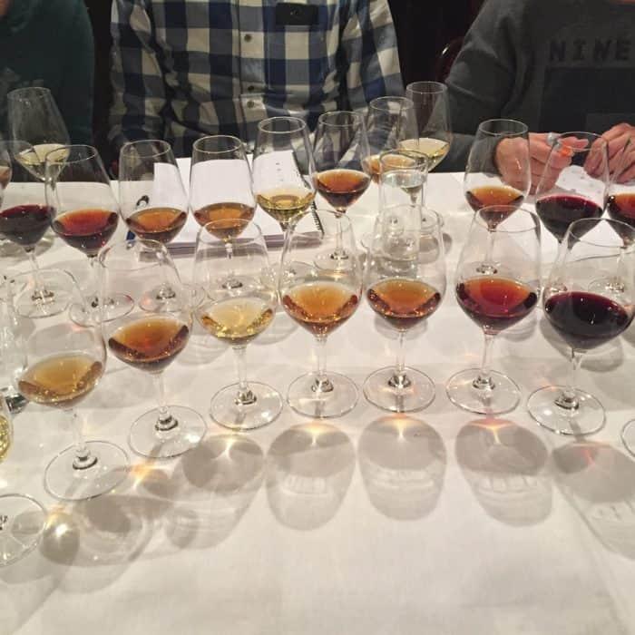 Geheugensteuntje bij versterkte wijnen