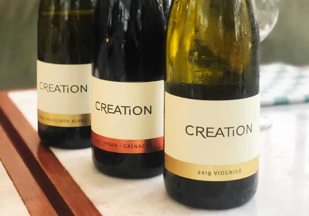 Nu in het glas: Creation Wine Viognier