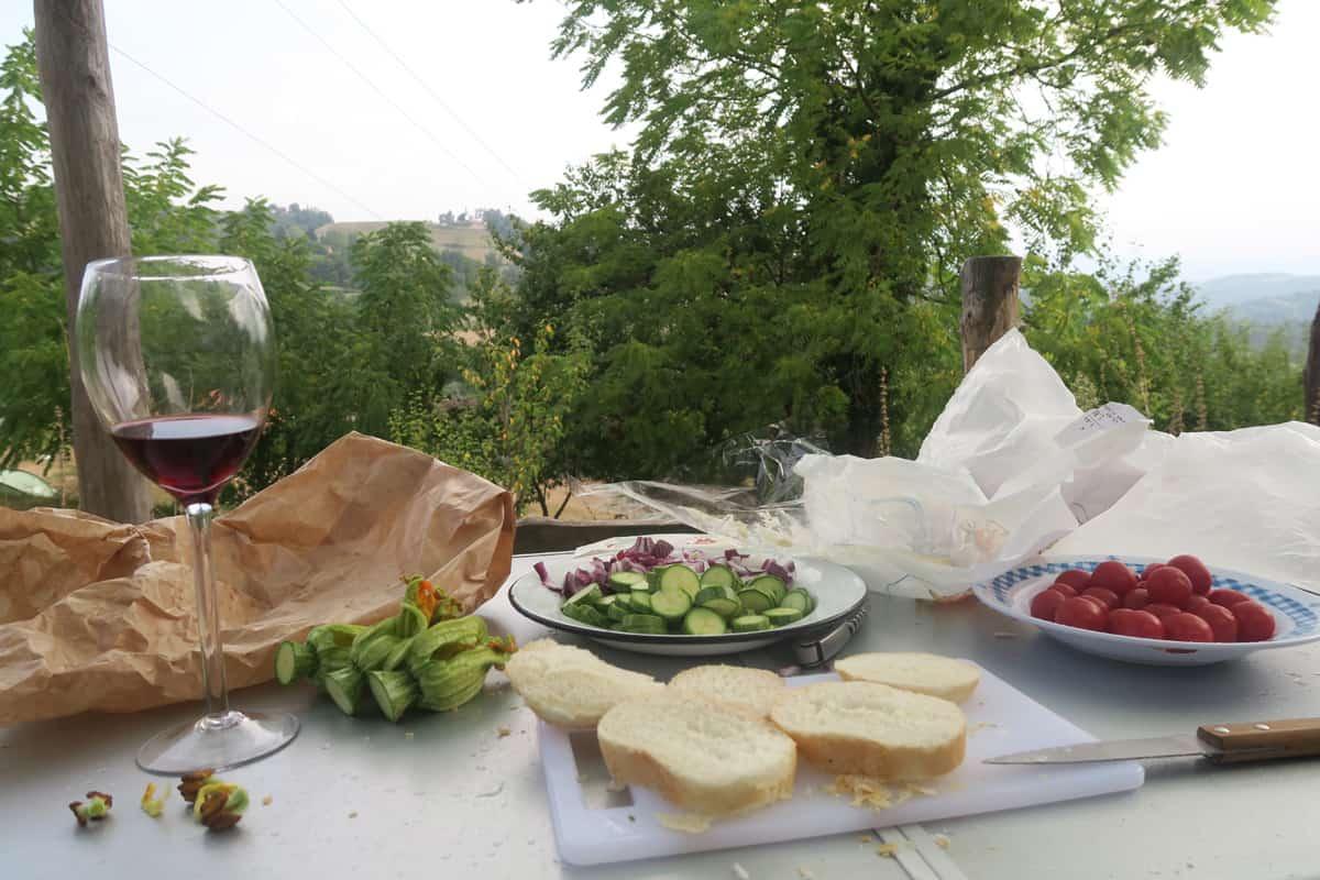 Pak je rust op Camping Viora (Piemonte, IT)