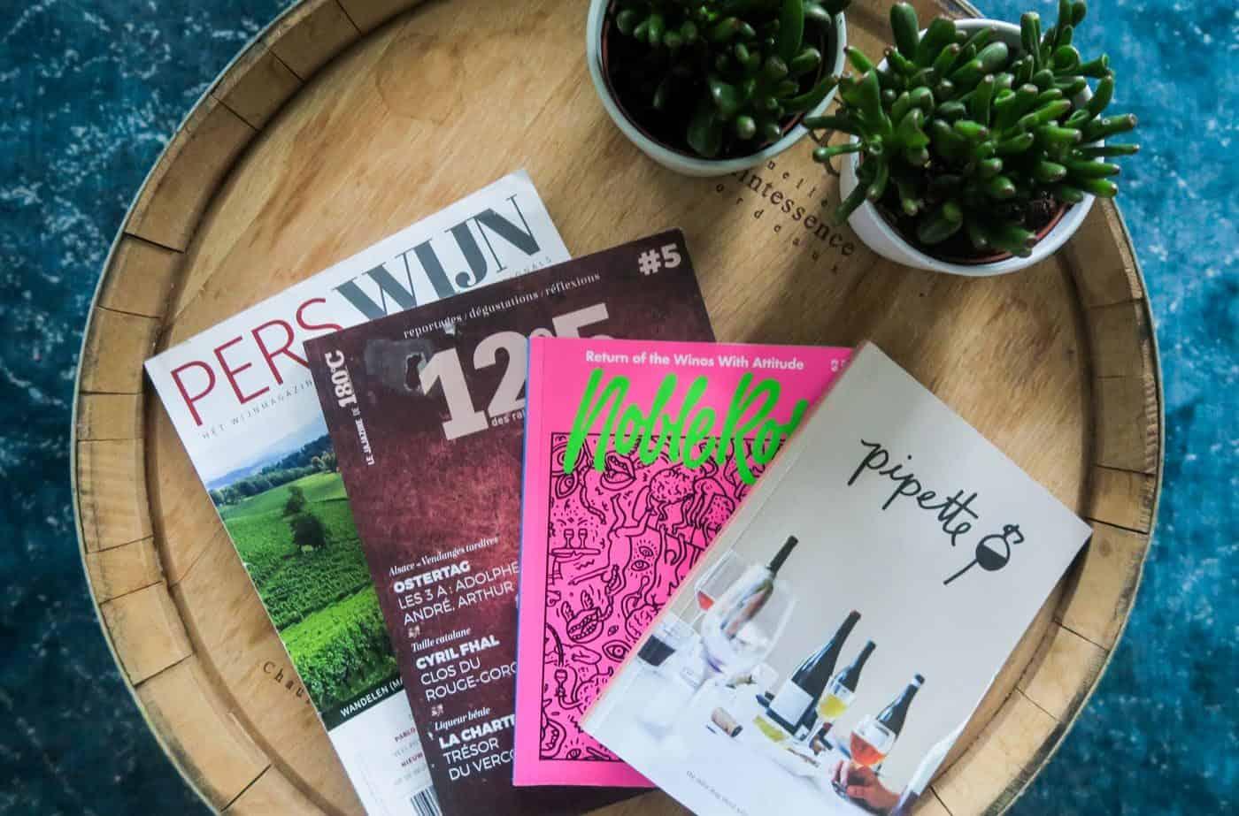 Mijn favoriete tijdschriften over wijn